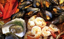 $45 for a Seafood Tower for Two with Prosecco or Vodka at Firebird ($110 Value)