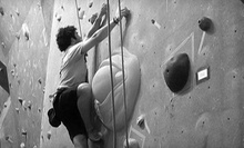Indoor Rock-Climbing Package for One or Two, or 10 Rock-Climbing Visits at The Crag (Up to 67% Off)