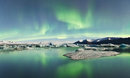 5-Day Iceland Vacation with Airfare and Northern-Lights Tour from Gate 1 Travel. Price/Person Based on Double Occupancy.