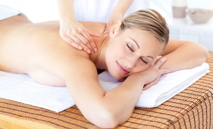 60- or 90-Minute Massage with Aromatherapy and $20 Gift Certificate at The Massage Center (Up to 62% Off)
