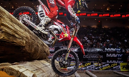 $15 for One Ticket to EnduroCross Racing Event at Gwinnett Center on Saturday, August 23, at 7:30 p.m. ($33.60 Value)