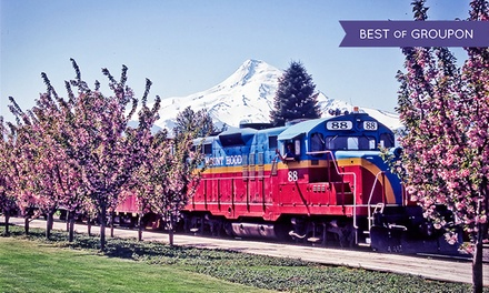 Train Tour for Two with SkyDome, 1st Class, or Standard Seating from Mount Hood Railroad (50% Off). 12 Dates Available.