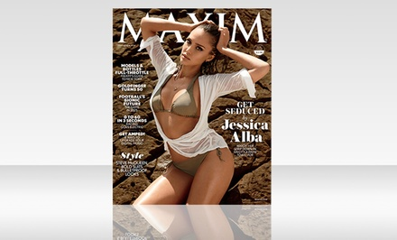 $15 for a Two-Year, 24-Issue Digital Subscription to Maxim ($29.98 Value)