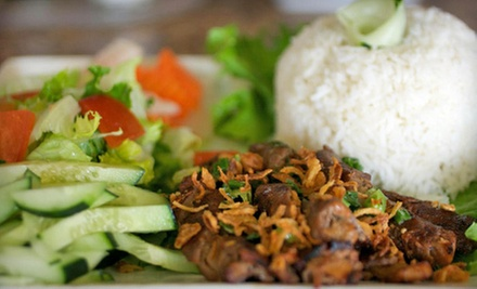 Chinese and Vietnamese Cuisine for Two or Four at Bamboo Basil Noodles & Grill (52% Off)