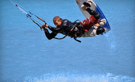 $49 for an Intro to Kiteboarding Class at Aerial Kiteboarding ($99 Value)