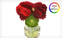 $22 for $40 Worth of Local, Seasonal Floral Arrangements and Live Orchids at Not Just Flowers