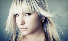 Haircut and Color at The Breeze Salon & Spa (Up to 56% Off). Three Options Available.
