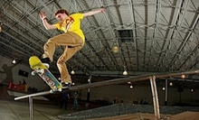 Four or Eight Skate-Park Visits or $30 for $60 Toward a Complete Custom Skateboard at Krush Skatepark 