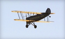 $85 for Anastasia Island Tour for One from St. Augustine Biplane Rides ($170 Value)