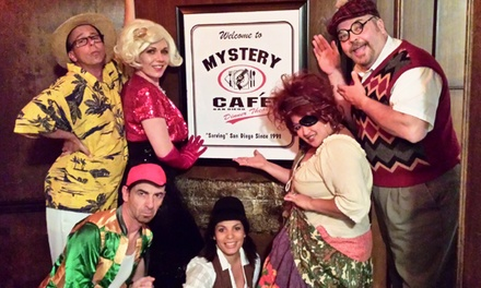 $75 for Mystery Comedy Dinner Theater for Two with Magnets at Mystery Cafe Dinner Theater ($130 Value)
