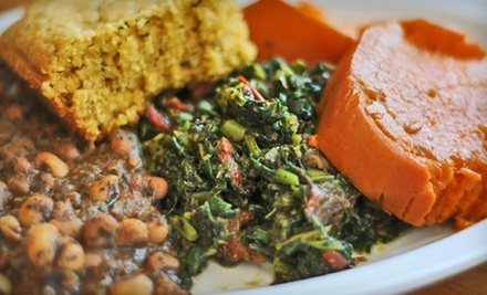 $12 for $25 Worth of Vegan Soul Food at Souley Vegan