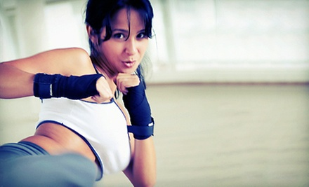 Adult Muay Thai, Women's Kickboxing, or Kid's Martial Arts Classes at Perdigon MMA and Family Fitness (Up to 86% Off)