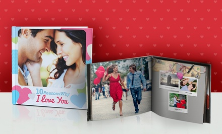 40-Page Custom Photo Book from Photobook Canada (Up to 75% Off). Four Options Available.