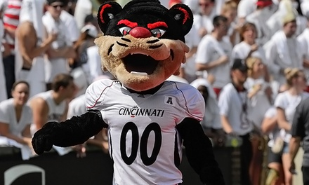 $18 for a Cincinnati Bearcats College Football Game at Paul Brown Stadium on October 24 or December 6 ($32 Value)