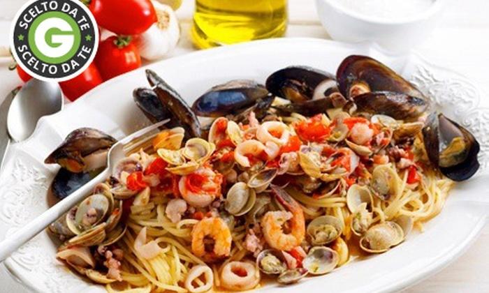 Osteria Berati - GAMBARARE di Mira: Osteria Berati - Menu pesce con bis di primi e bottiglia di prosecco da 34 € invece di 109