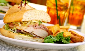Dinner For Two Or Four Or More At The Gathering Cafe Restaurant (40% Off)