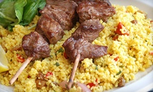Mediterranean Dinner for Two or Four at Divan Mediterranean Grill (Up to 58% Off)
