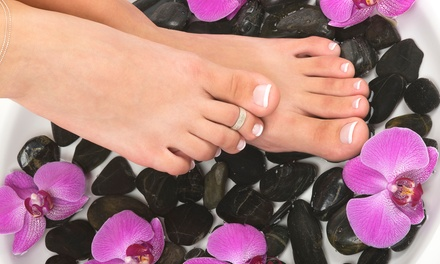 SoloRelaxation Mani-Pedi with Optional Hot-Stone Massage at Solo Haven (47% Off)