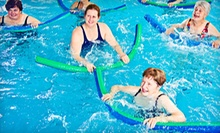 20 or 10 AquaFit Classes at AquaCenter Swim School (Up to 62% Off)