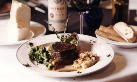 Three-Course Italian Dinner for Two or Four at La Bistecca Italian Grille (Up to 51% Off)