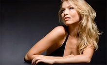 Cut, Conditioning Treatment, and Style with Optional Base Color or Full Highlights at Too Blonde Salon (Up to 56% Off)