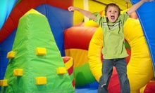 One Open-Jump Bounce-House Session for Two, Three, or Four Kids at Jumpin Jordys (Up to 53% Off)