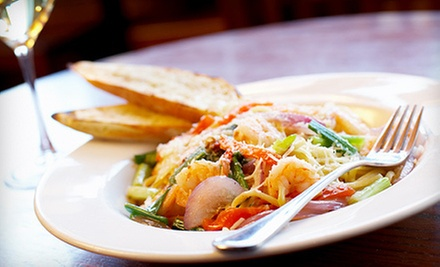 C$49 for a Four-Course Italian Dinner for Two at Portobello Restaurant & Bar (Up to C$113.60 Value)