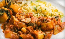 Indian Cuisine for Two or Four or More at Saffron Indian Cuisine (Half Off)