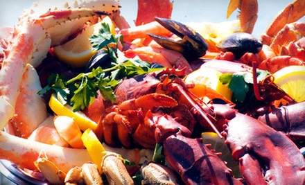 $25 for $50 Worth of Seafood and Cajun Cuisine at The Crazy Lobster