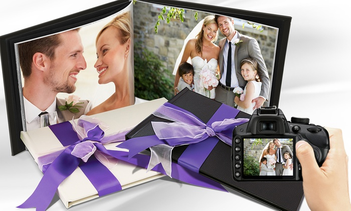 Printerpix: Valentino A4 Leather-Bound Photobook in Cream or Black from £14.99 (Up to 84% Off)