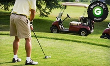 Nine-Hole Round of Golf for Two or Four Including Cart and Range Balls at Twin Springs Golf Course (Up to 57% Off)