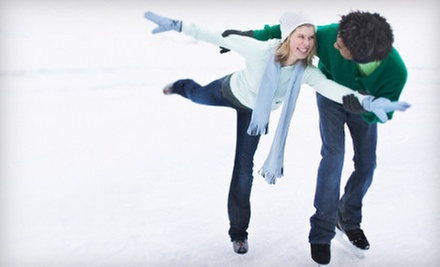 Ice-Skating Outing for Two or Four at The Edge Ice Arena in Bensenville (Up to 53% Off)