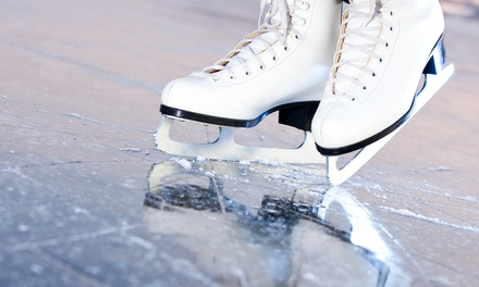 Ice Skating and Skate Rental for Two, Four, or Six at Arcadia Ice Arena (Up to 56% Off)