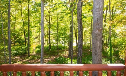 groupon daily deal - 2-Night Stay for Two with Optional Ski Passes at Fish Creek Cabin Resort in Taberg, NY. Combine Up to 4 Nights.