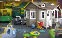 Two Open Play Passes or Birthday Party for Up to 12 Kids at Play Town (Up to 58% Off)