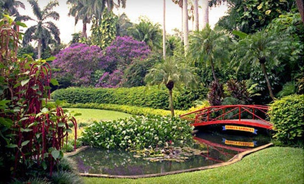 One Day at Sunken Gardens for Two, or One Annual Family Membership (Up to Half Off)
