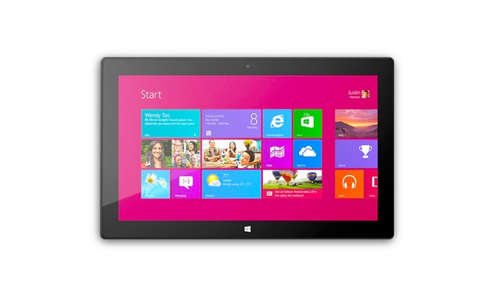 Photo Direct: Microsoft Surface RT 64GB Certified Refurbished Tablet for £149.99 With Free Delivery