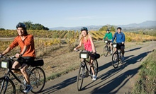 Half- or Full-Day Winery Bike Tour for Two from Trail's End Cycling Co (Up to 63% Off)