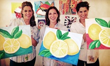 Canvas Get-Together Painting Class for One or Two at Blank Canvas (Up to 51% Off)