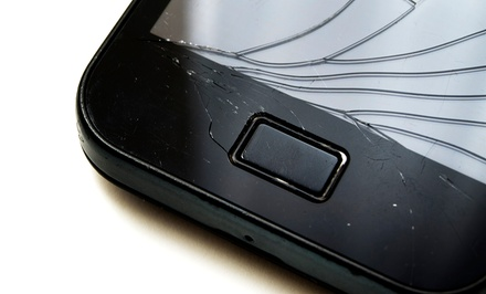 iPhone, iPad, and iPod Screen Repair or Liquid Damage Recovery at iCafe (Up to 63% Off). Seven Options Available.