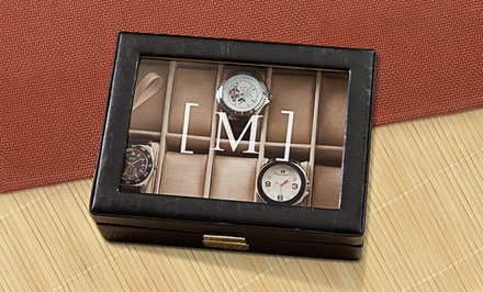 Personalized Watch Case from Monogram Online