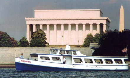 Potomac River Boat Tour for Two, Four, or Six with Capitol River Cruises (Up to 56% Off)