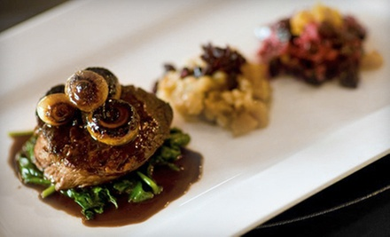 C$60 for a Three-Course Seasonal Chef's Dinner for Two at Tusq (C$120 Value)