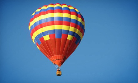 $329 for a Hot-Air-Balloon Ride for Two in a Shared Basket from Balloon Adventures ($450 Value)