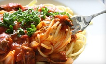 Italian Cuisine for Two or Four at Pines of Florence DC (Half Off)