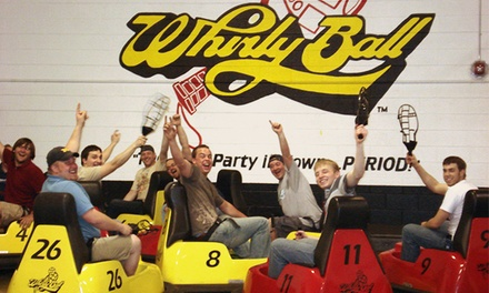 $201 for a Whirlyball Outing for Up to 15 People with Pizza, Salad or Chips, and Soda ($364 Value)