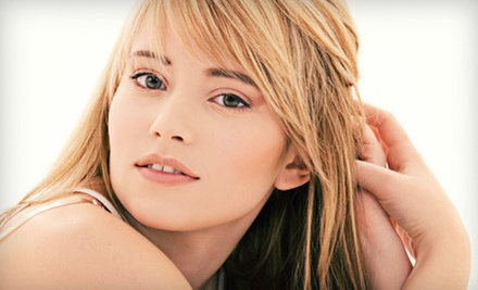 Haircut with Full Color, Partial Highlights, or Full Highlights at Salon Celine in Silver Spring (Up to 68% Off)