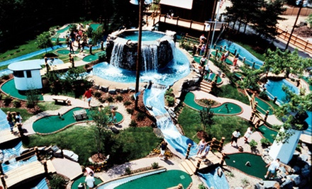 Mini Golf and Ice Cream for Two or Four at Captain's Cove Adventure Golf (Up to Half Off)