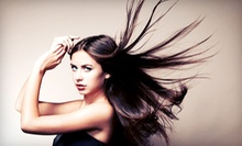 Cut and Style with Optional Conditioning or Color Service, or a Brazilian Blowout at Arella Bella Salon (Up to 70% Off)