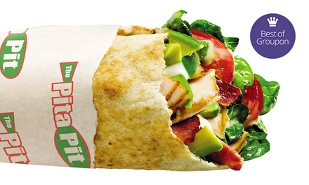 $7 for Pitas  at The Pita Pit ($12 Value)